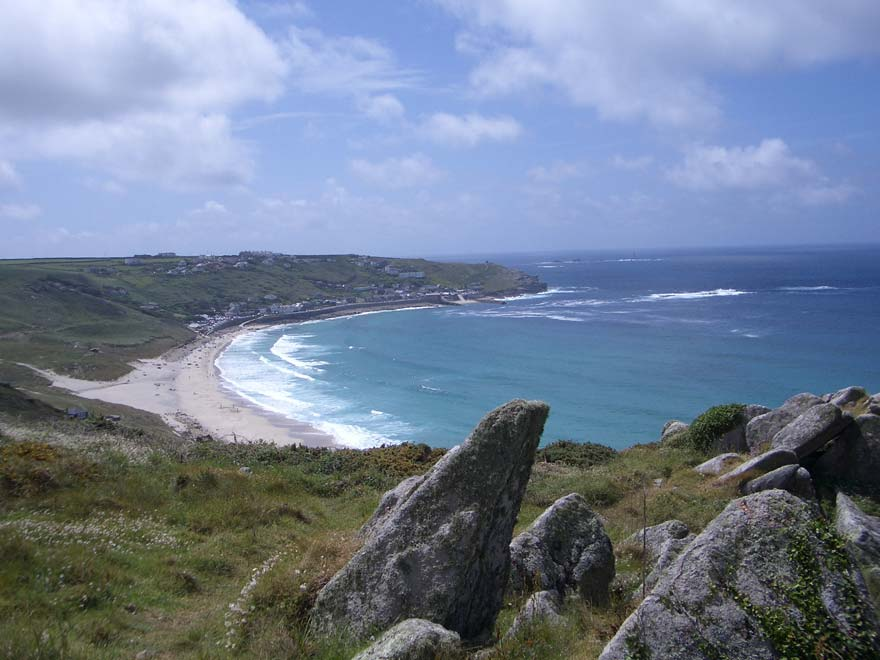 Sennen Beach is a short drive away and is one of the nicest beaches in the area. It has a fabulous restaurant overlooking the beach.